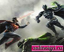 3д драки Бетмена и Супермена
