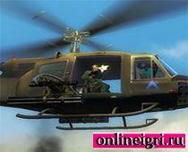 Парашютисты с вертолета
