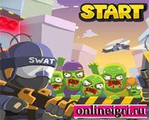 Вторжение в город спецназ против зомби