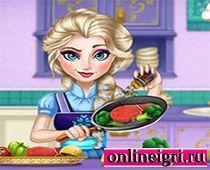 Эльза - кулинар