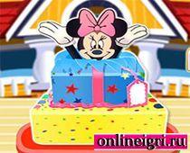 Минни Маус и её тортики