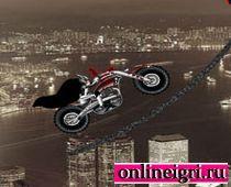 Бэтмен на мотоцикле