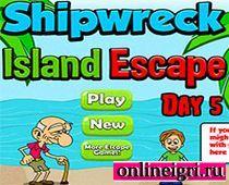 Кораблекрушение и побег с острова