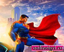 Супермен спасает малышей