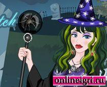 Наряжаемся в костюм ведьмы