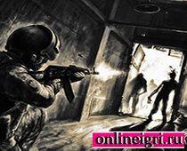 На двоих стрелялка в зомби
