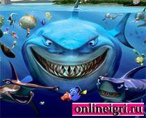 Дисней: Немо и акулы