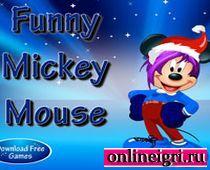 Одевалки про Микки Маус и Новый год