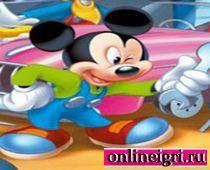 Микки Маус: Ищи букву!