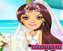 Русалочка и наряд на свадьбу