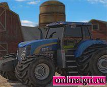 Фермерский трактор 3D