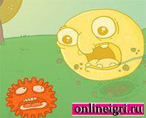Головоломка про двух друзей микробов