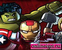 Лего команда супергероев
