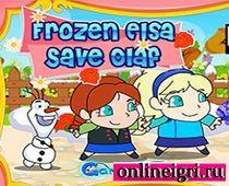 Холодное сердце: Сестры спасают Олафа