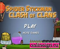 Стикмен-паук на задании 7