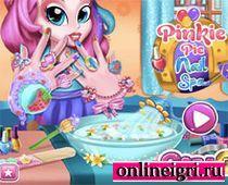Девушки из Эквестрии: Прекрасный маникюр Пинки Пай