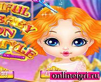 Причёска для маленькой принцессы