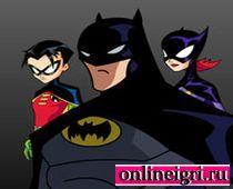 Бэтмен готовится к броску
