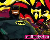 Бэтмен в экстремальной гонке