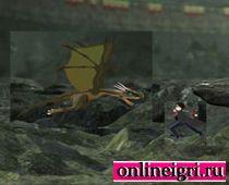 Гарри Поттер и полет на драконе