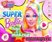 Очень яркий образ Барби