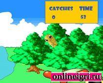 Ловим покемонов в лесу