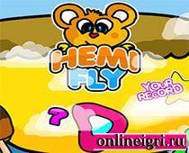 Мишка Хеми отправляется в полет
