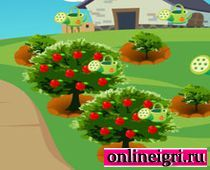 Яблочный сад: Вкусная игра