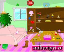 Поиск предметов: беспорядок в доме
