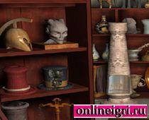 Поиск предметов: в музеи естествознания