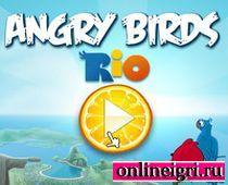 Angry Birds Rio (Птицы Рио разозлились)