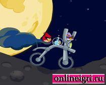 Angry Birds: катайся в космосе