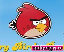 Angry Birds: стреляем в поросят
