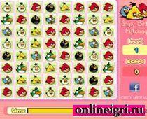 Angry Birds ищем пары