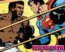 Супермен и боксерский пазл