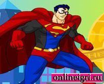Одеваем супермена вместе