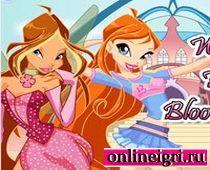 Винкс на двоих: Блум с Флорой