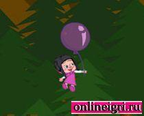 Маша с воздушным шариком