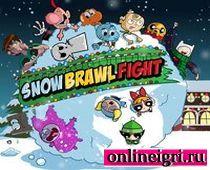 Время приключений: снежный бой