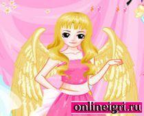 Платье ангела на бал