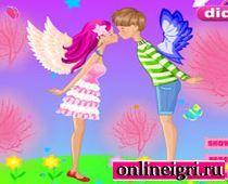 Поцелуи между ангелами