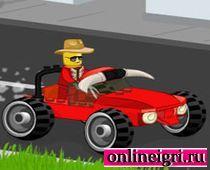 Автобеспредел в стиле Лего
