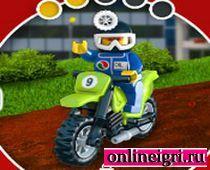Лего прыжки на мотоциклах