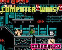 Драки на компьютере - 8 бит