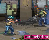Выживание в городе с зомби с пистолетом