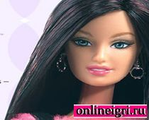Барби в салоне красоты