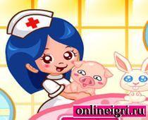 Ветеринарная больница: Спасай зверюшек!