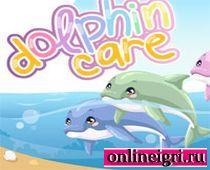 Для девочек - приключения дельфина