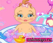 Для девочек: купаем малышку