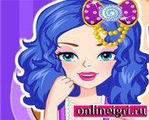 Для девочек: Модная прическа